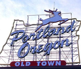 The Portland Sign